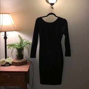 Open back Lulus midi dress worn once